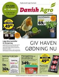 Danish Agro: Gyldig t.o.m lør 24/3