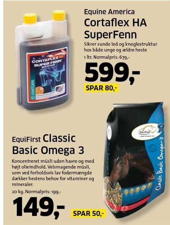 Cortaflex HA SuperFenn eller Classic Basic Omega 3