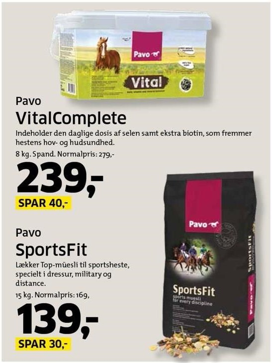 VitalComplete eller SportsFit