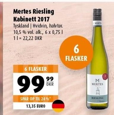 Mertes Riesling Kabinett 2017