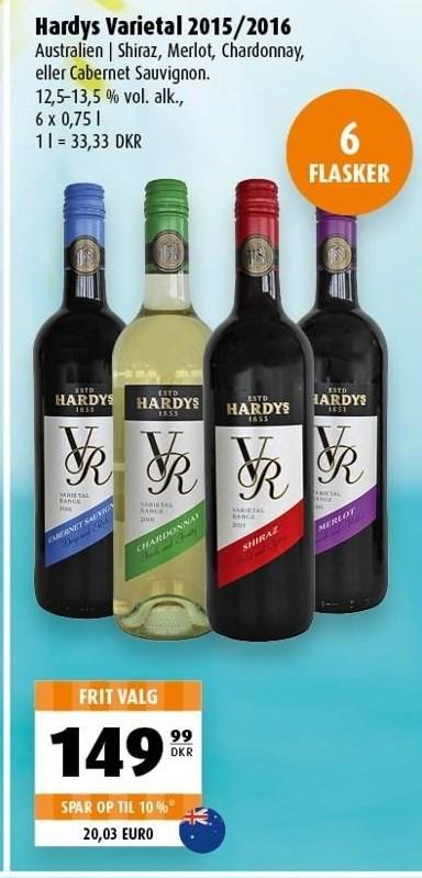 Hardys varietal