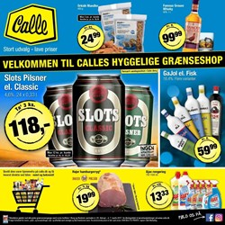 Calle Grænsebutik: Gyldig fra ons 22/2 t.o.m. tir 7/3
