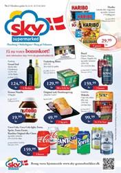 SKY Grænsebutikker: Gyldig t.o.m tir 27/2