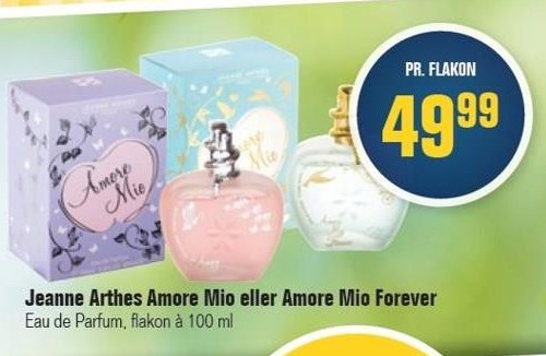 Jeanne Arthes Amore Mio eller Amore Mio Forever