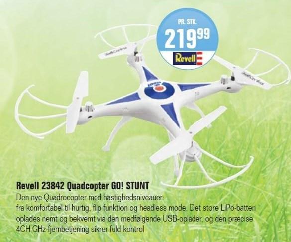 Revell 23842 quadcopter Go! stunt