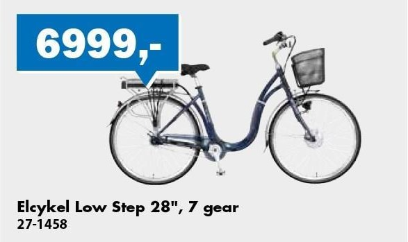elcykel Low Step 28